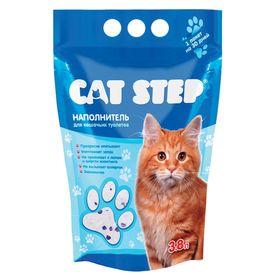 Наполнитель силикагелевый Cat Step 3.8л (1.67кг) Ош