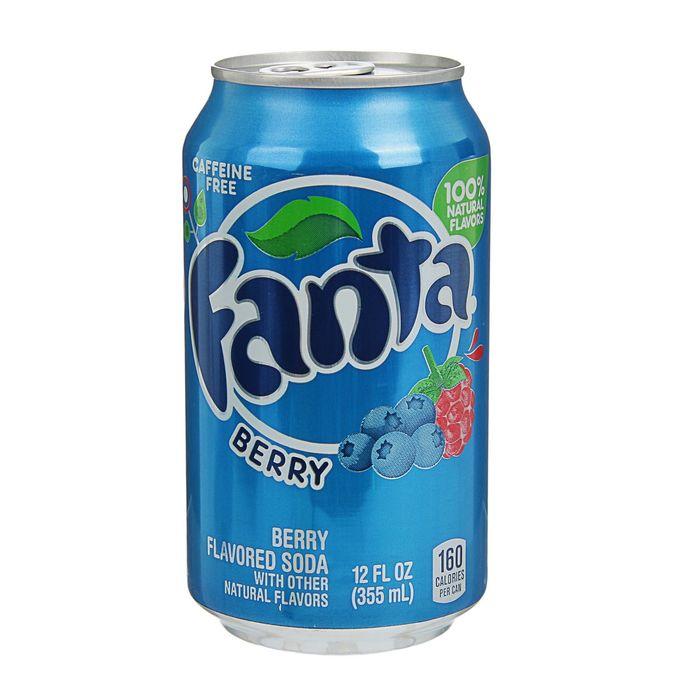 Газированный напиток Fanta лесные ягоды, 355 мл
