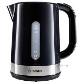 Чайник электрический Bosch TWK7403, пластик, 1.7 л, 2200 Вт, черный