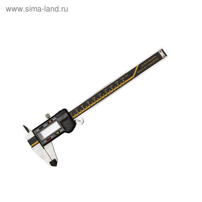 Штангенциркуль KRAFTOOL, электронный металлический, 150мм