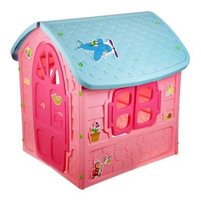 Детский игровой домик, цвет розовый