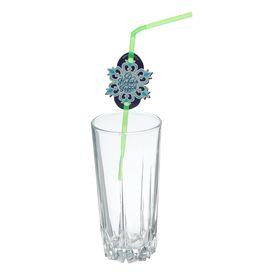 Трубочка для коктейля «Снежинка», набор 6 шт. Ош