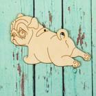 Подвеска - собака «Малыш мопс»