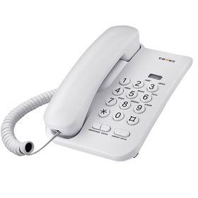 Проводной телефон TeXet TX-212, регулировка громкости вызова, светло-серый Ош