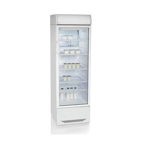 Холодильная витрина 'Бирюса' 310Р, 310 л, с канапе Ош