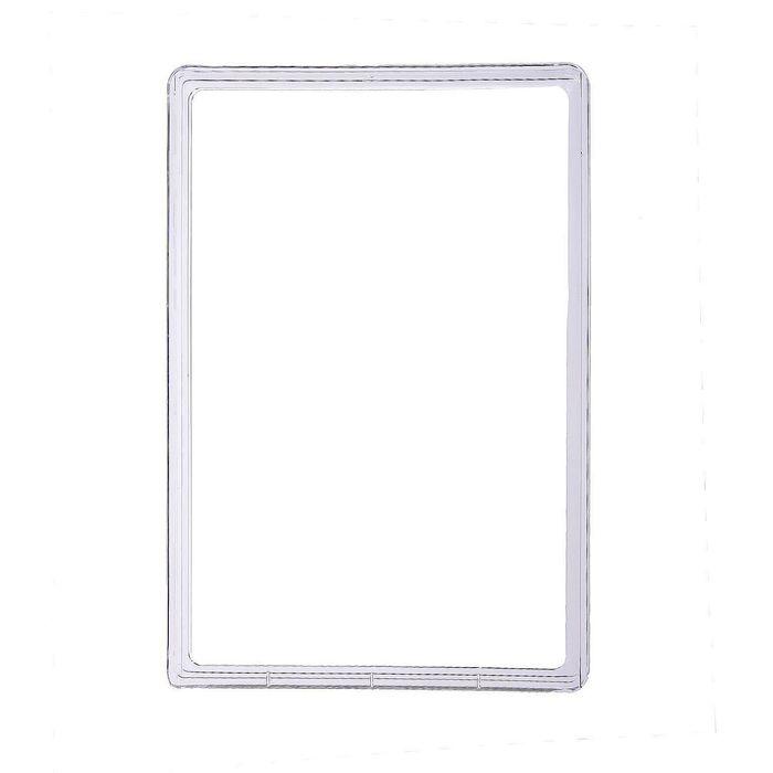 Рама из ударопрочного пластика с закругленными углами А3, без протектора, цвет прозрачный