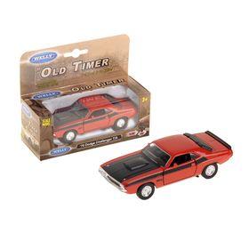 Модель машины Dodge Challenger 1970, масштаб 1:34, МИКС