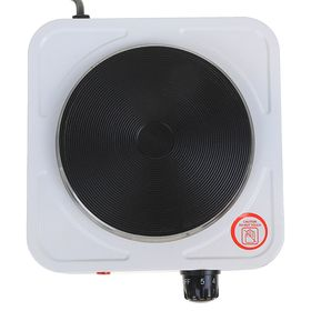 Плитка электрическая GELBERK GL-101, чугун, 1000 Вт
