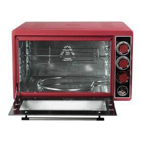 """Мини-печь """"Чудо Пекарь"""" ЭДБ-0124, 1500 Вт, 39 л, таймер+гриль, красный"""