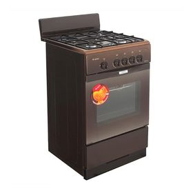 Плита Gefest 3200-08 K86, газовая, 4 конфорки, 42 л, газовая духовка, коричневая Ош
