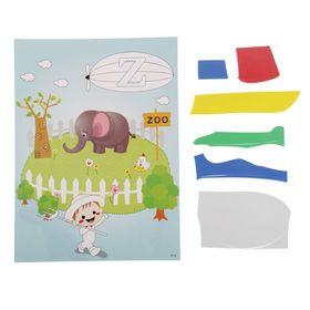 Аппликация - открытка 3D «Слоник», из ЕVA Ош