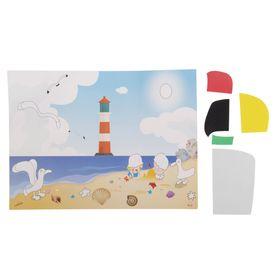 Аппликация - открытка 3D «Маяк», из ЕVA Ош