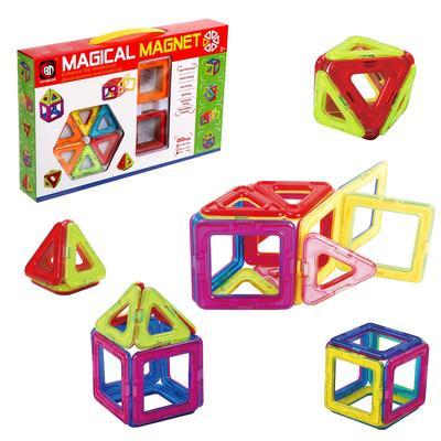 Конструктор магнитный «Магический магнит», 20 деталей - Фото 1