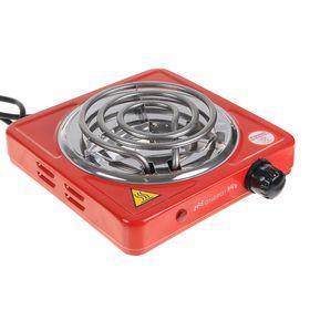 Плитка электрическая ENERGY EN-902R, 1000 Вт, 1 конфорка, красная Ош