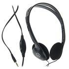 Наушники накладные Defender Aura 101, кабель 1.8 м, черный