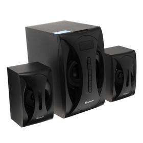 Компьютерные колонки 2.1 Defender G40, 2х12 Вт + 16 Вт, MP3, FM, Bluetooth, 220 В, черные Ош