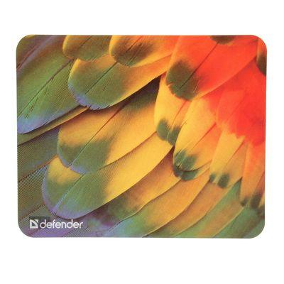 Коврик для мыши Defender Sticker, 220x180x0.4 мм, МИКС - Фото 1