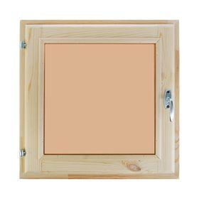Окно, 50×50см, двойное стекло, тонированное, из хвои Ош