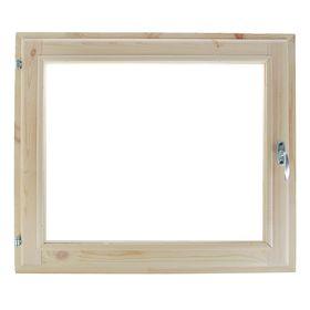 Окно, 60×70см, двойное стекло, из хвои Ош