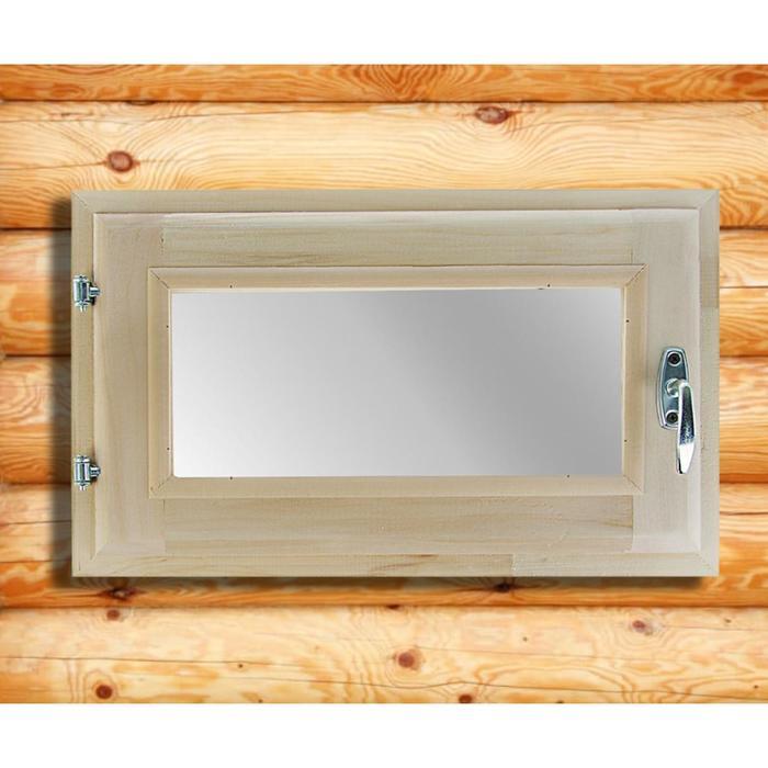 Окно, 30×50см, двойное стекло, из липы
