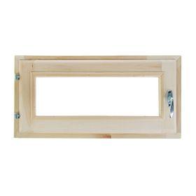 Окно, 30×60см, двойное стекло, из липы Ош