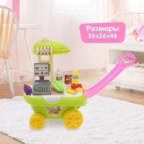 Игровой модуль-каталка «Магазинчик» с аксессуарами Ош
