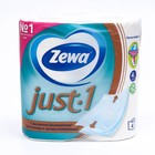 Туалетная бумага Zewa Just, 4 слоя, 4 шт.