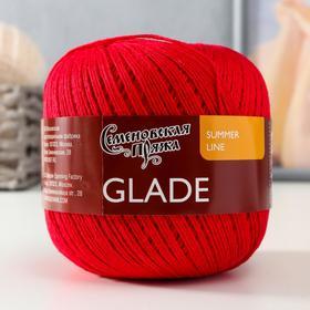 Пряжа Glade (Поляна) 34% хлопок, 33% лен, 33% вискоза 285м/100гр гвозд_x1 (30171)