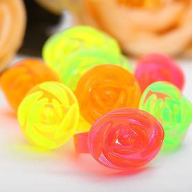 Кольцо детское 'Розы', цвет МИКС, форма МИКС Ош