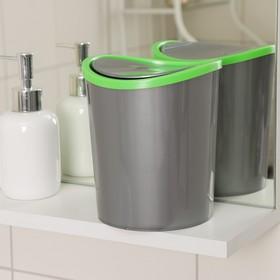 Контейнер для мусора настольный 1,6 л, цвет МИКС Ош