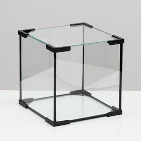 Аквариум куб, 16 литров, 25 х 25 х 25 см Ош