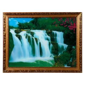 Световая картина 'Живая природа' со звуком пения птиц и водопада Ош