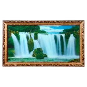 Световая картина 'Водопады' со звуком пения птиц и водопада Ош