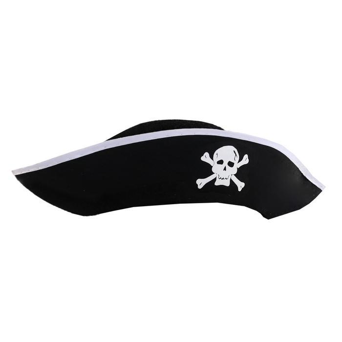 Карнавальная шляпа «Пират», р-р 56-58