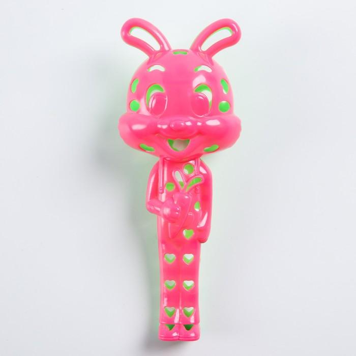 Погремушка «Зайка», цвета МИКС