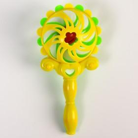 Погремушка «Солнышко-2», цвет МИКС
