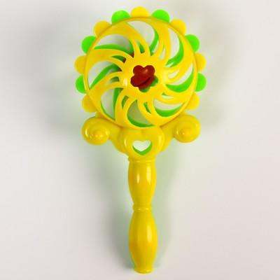 Погремушка «Солнышко-2», цвет МИКС - Фото 1