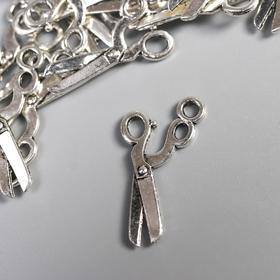 Декор металл для творчества 'Парикмахерские ножницы' (А17980) 1,2х2,2 см Ош