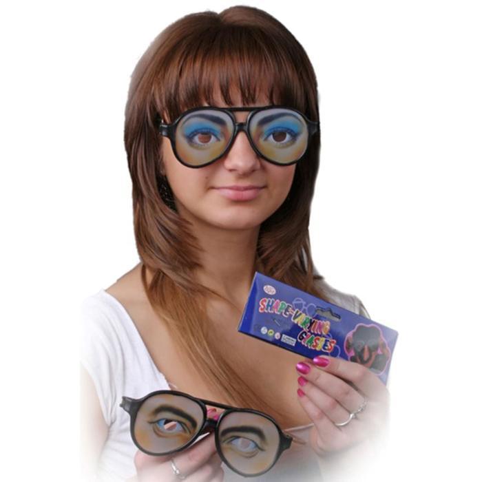 Карнавальные очки Глаза, мужские и женские, виды МИКС
