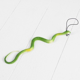 Прикол резиновая «Змея», цвета МИКС Ош