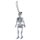 Прикол «Скелет», резиновый, цвет серый