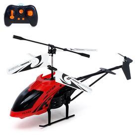 Вертолет радиоуправляемый «Эксперт», работает от аккумулятора, 3,5 канала, цвета МИКС Ош