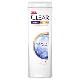 Шампунь для волос Clear «Максимальный объём» против перхоти, 400 мл
