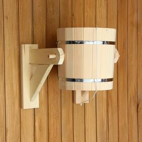 Обливное устройство из липы, 15л, оцинкованная вставка, 'Добропаровъ' Ош