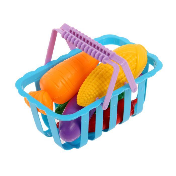 Игрушечная продуктовая корзина «Магазинчик»