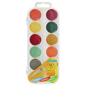 Акварель 24 цвета, GASPAR, карамельная, без кисти