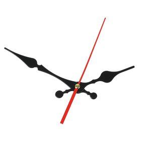 Комплект из 3-х стрелок для часов черные фигурные 82/117 (1018) (фасовка 100 наборов) Ош