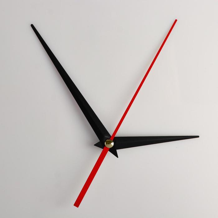 Комплект из 3-х стрелок для часов черные 73110 1039 фасовка 100 наборов
