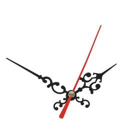 Комплект из 3-х стрелок для часов, черные, резные 50/68 (1045) (фасовка 100 наборов)