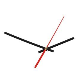 Комплект из 3-х стрелок для часов черные 75/115 (1075) (фасовка 100 наборов)